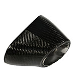 Motorcycle Exhaust End Caps