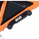Rear Foot Rest Blanking Plate Kit for KTM RC 125/RC 200 '14