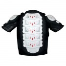 GP-PRO Youth MOTO-X Protector Jacket Short Sleeved - Black/White