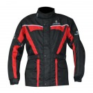 Oxford Products Spartan Long Waterproof Jacket - Red