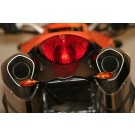 KTM 990 Super Duke (with R&G LEG Micro Indicators included) | R&G Tail Tidy| LP0043BK (Black)