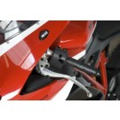 R&G Mirror Blanking Plates | Ducati 848,1098 and 1198 | MBP0009BK