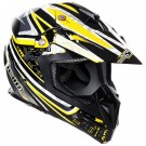 Stealth HD210 Motocross helmet - Yellow Droid