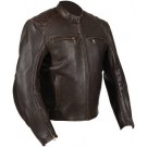 Weise Thruxton Leather Jacket - Brown