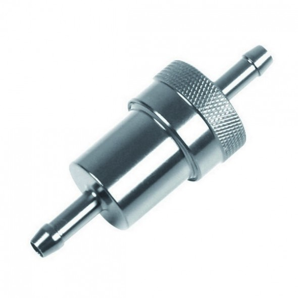 Alloy Fuel Filter - Silver