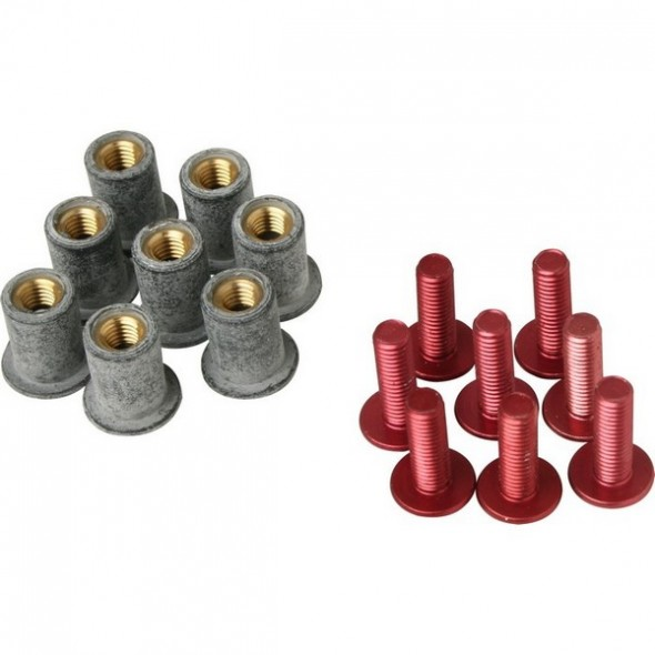 Screen Screw - Red