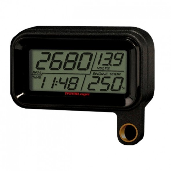 Translogic Digital LCD Gauge for Harley Davidson Sportster - Black