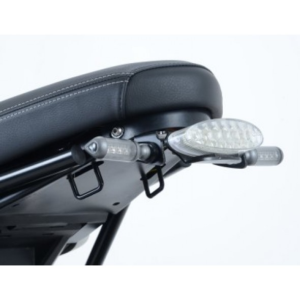 BMW R NINE T  14> (with replacement rear light) | R&G Tail Tidy | LP0174BK (Black)