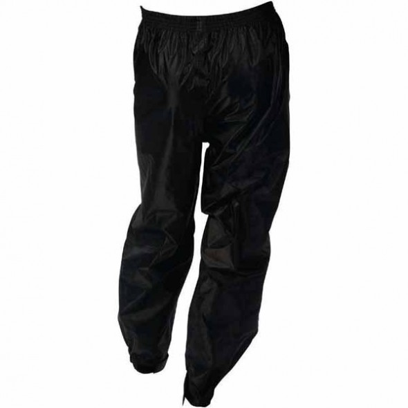 Oxford Products Rain Seal All Weather Over Trousers - Black