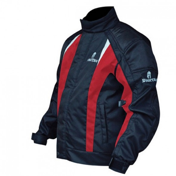 Oxford Products Spartan Short Waterproof Jacket - Red