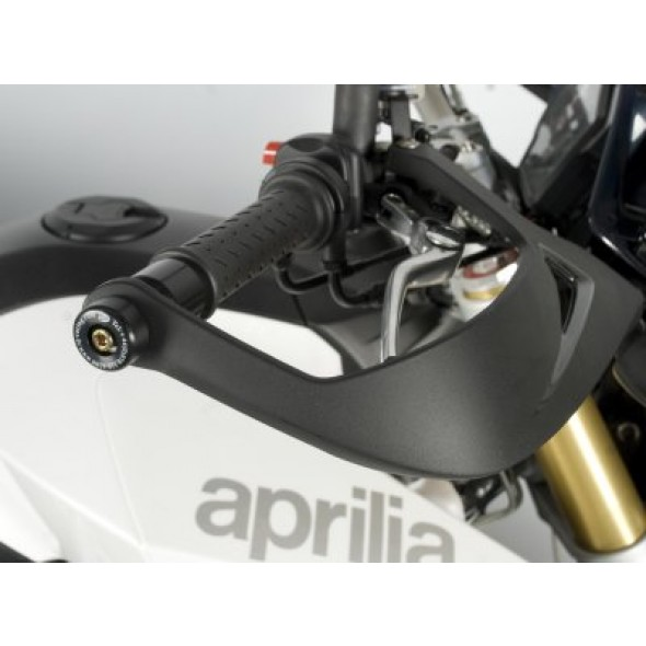 Aprilia Dorsoduro 750 '08-, Dorsoduro 1200 '11, Caponord 1200 '13- | R&G Bar End Sliders | BE0045BK
