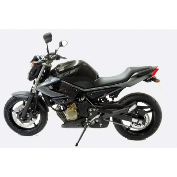 Yamaha XJ6, Diversion '09- | R&G Crash Protectors | Aero Style | CP0246BL (BLACK)