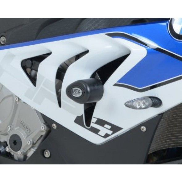 BMW S1000RR | HP4 [Non Drill] | R&G Crash Protectors | Aero Style | CP0308BL (BLACK)