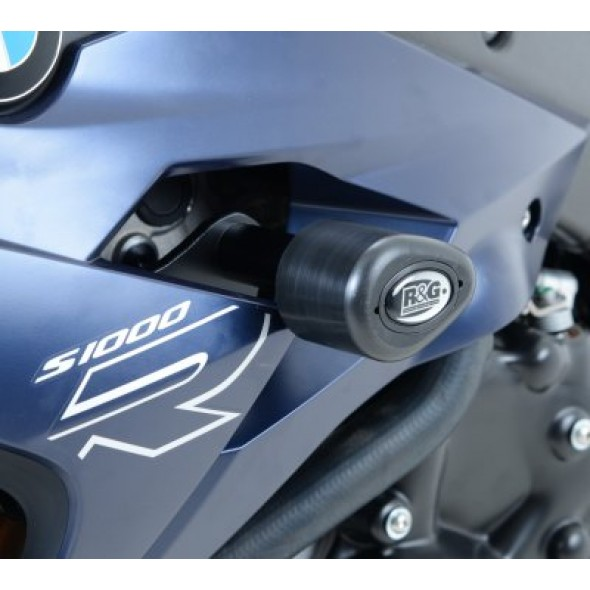 BMW S1000R '14 | R&G Aero Crash Protectors | CP0366BL (BLACK)