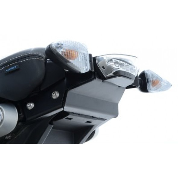 BMW R NINE T  14-| R&G Tail Tidy| (swingarm mounted, for use without pillion seat and subframe) | LP0161BK (Black)