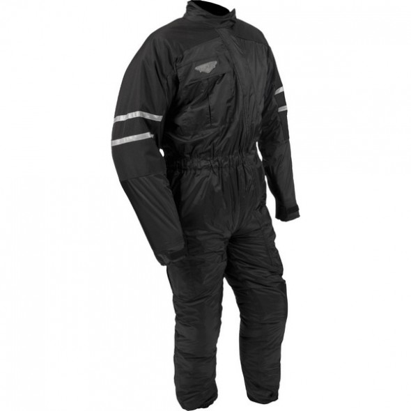 Weise 1 Piece Thermal Lined Oversuit  - Black