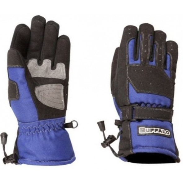 Buffalo Tracker Glove - Black / Blue