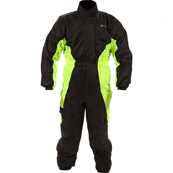 Weise Hi-Viz Rain Suit - Black / Yellow