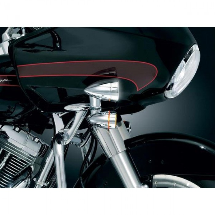 kuryakyn driving lights for harley davidson chrome. Black Bedroom Furniture Sets. Home Design Ideas