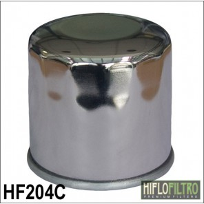 HIFLO HF204C CHROME OIL FILTER