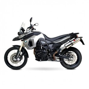 BMW F800GS | Factory Oval Scorpion Exhaust | Carbon | '08