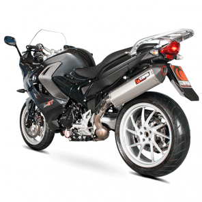 BMW F800GT and F800R | Serket Parallel Oval Scorpion Exhaust | Carbon | '13-