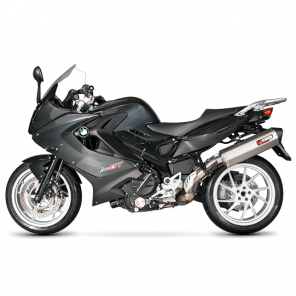 BMW F800GT and F800R | Serket Parallel Oval Scorpion Exhaust | Stainless Steel | '13-