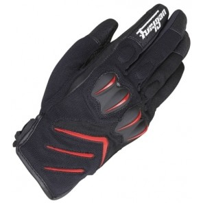 Furygan Delta Glove Black/Red