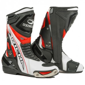 Richa Blade W/P Boot Black/Whit/eRed