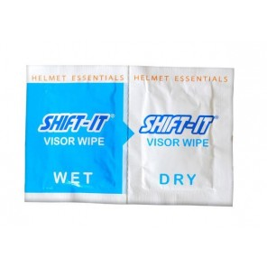 Shift-It Helmet Care Visor Wipes x 2