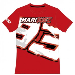 VR46 Marquez Lady T-Shirt Red