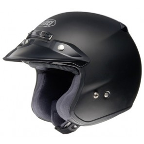 Shoei RJ Plain Matt Black
