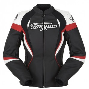 Furygan Xenia Racing Lady Jacket black/red