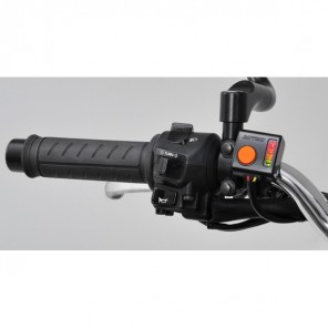 Daytona Heated Grips - 4 Level Heat Control Switch