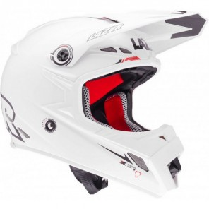 Lazer MX8-Pure Glass Geopop Motocross Helmet - White