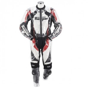 Furygan Racing Rain Suit Black/Trans