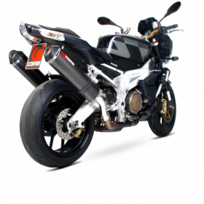 Aprilia RSV1000 Factory, Millie R and Touno | Factory Oval Scorpion Exhaust | Stainless Steel | '03-'08