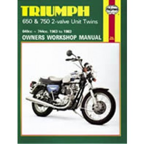 HAYNES 122 TRIUMPH 650/750 UNIT TWINS MANUAL