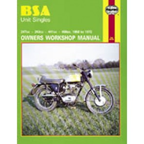 HAYNES 127 BSA UNIT SINGLES MANUAL