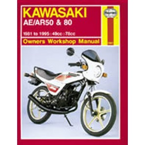 HAYNES 1007 KAW AE/AR50 & 80 MANUAL