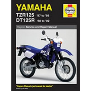 HAYNES 1655 YAM DT125/TZR125 MANUAL