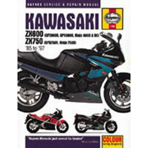 HAYNES 1780 KAW ZX600 FOURS MANUAL