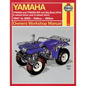 HAYNES 2126 YAM ATV YFM350 & YFM400 (ER AND BIG BEAR) 87-09