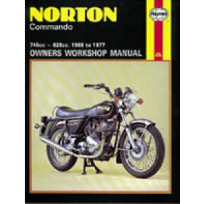 HAYNES 125 NORTON COMMANDO 68-77 MANUAL