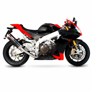 Aprilia RSV4 | Factory Oval Scorpion Exhaust | Stainless Steel | '09