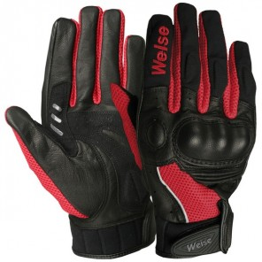 Weise Airflow Plus Glove  - Black / Red