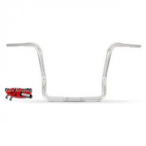 "Burly Apehangers for Baggers 13"" - Chrome (Fly By Wire)"