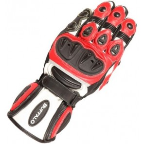 Buffalo Bay Glove - Black / Red