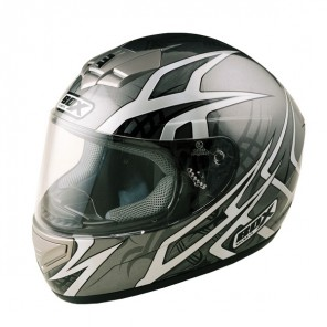BOX BX-1 Web Full Face Helmet - Black