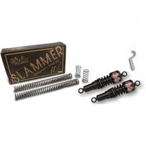 Burly Slammer Kit for Sportster (2004 Onwards) - Black